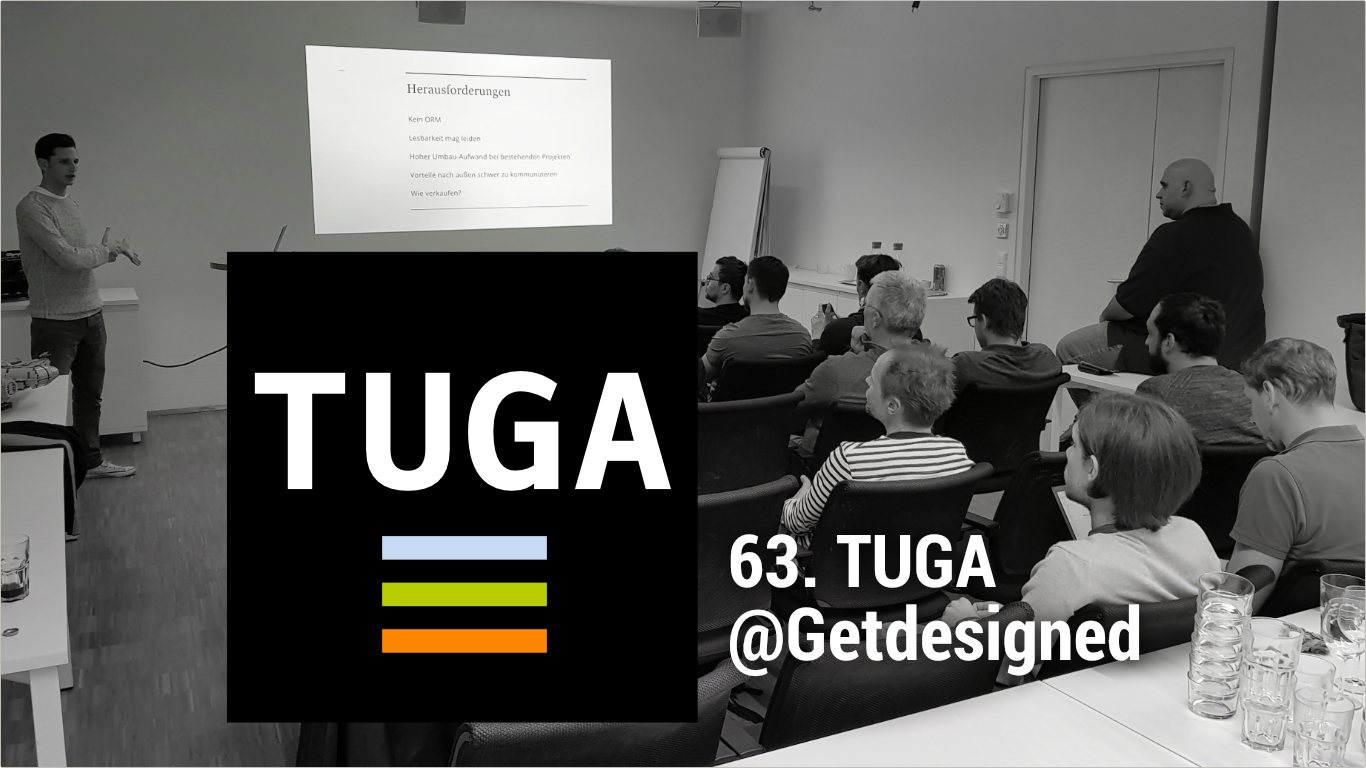 63. TUGA – TYPO3 User Group Austria – bei Getdesigned