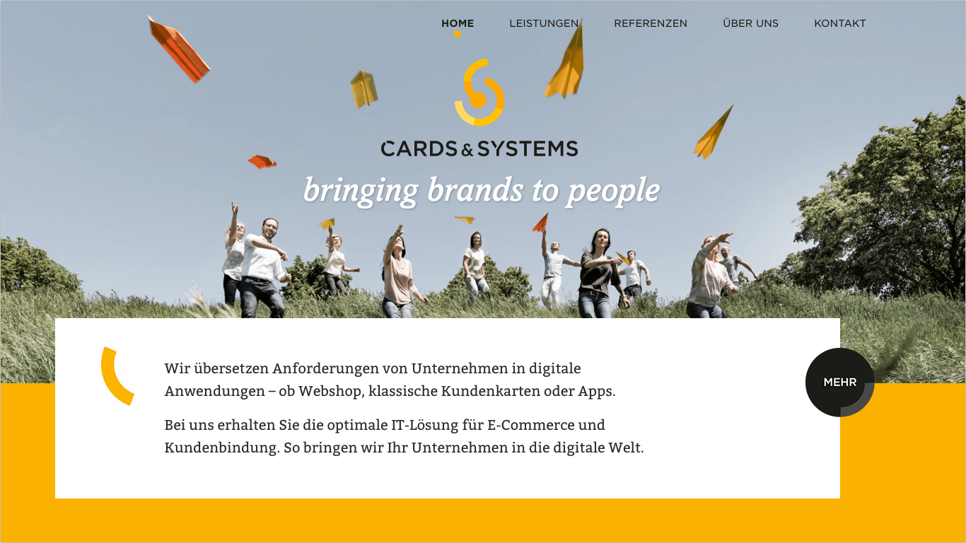 Website Cards & Systems