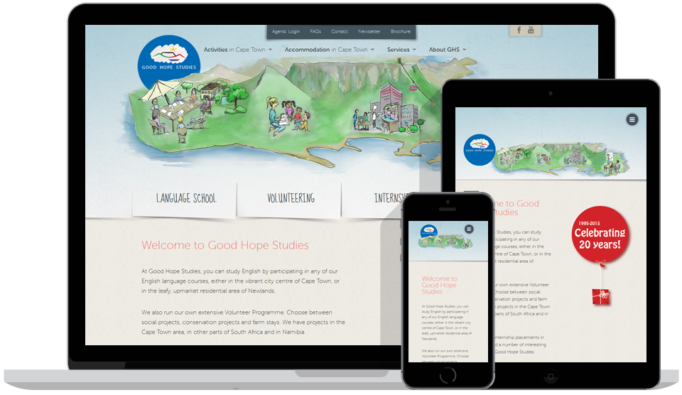 Responsive Website Good Hope Studies